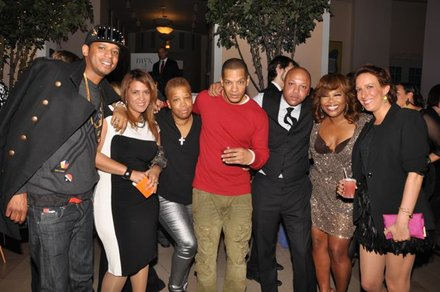 Chef Roble, Kim Osorio, Rowena Husbands, Peter Gunz, Kino, Mona Scott-Young and guest