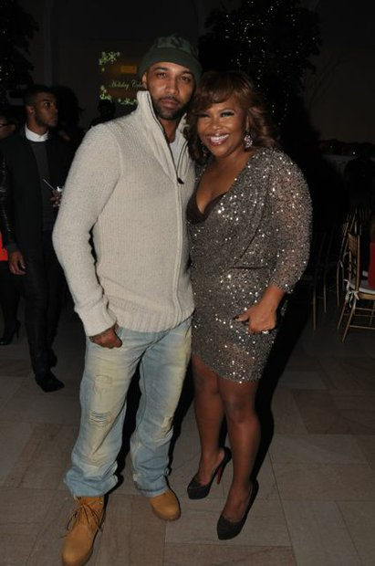 Joe Budden and Mona Scott-Young.