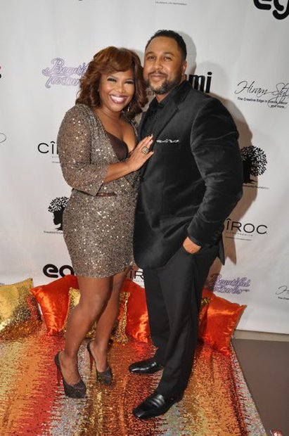 Mona Scott-Young and Husband Shawn Young.