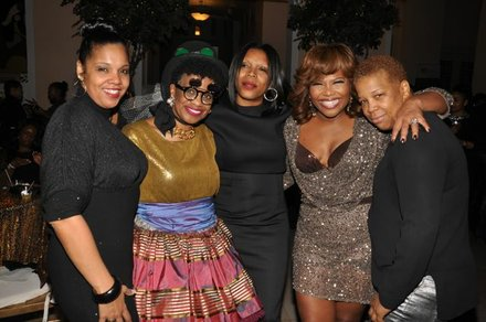 Mona Scott-Young and friends.