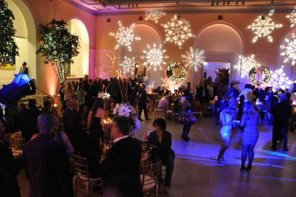 Mona Scott-Young's Monami Entertainment hosts Annual Holiday Party in New Jersey.