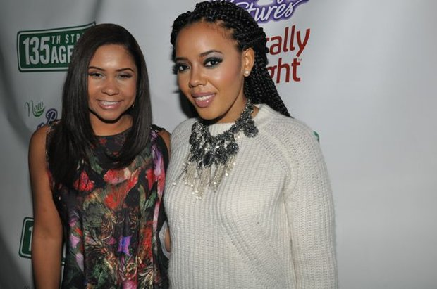 Angela Yee and Angela Simmons