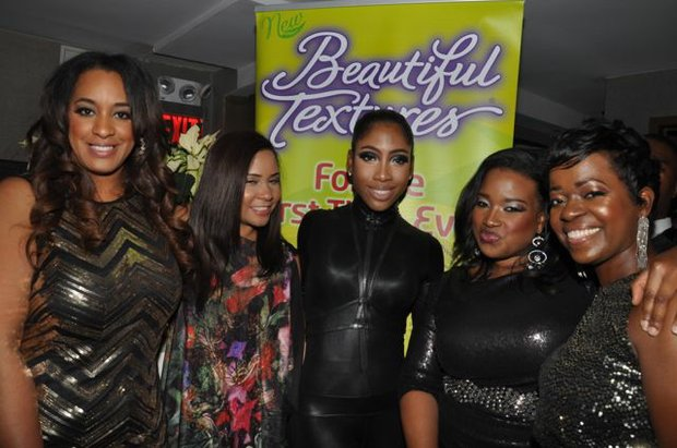 Charlene Dance, Angela Yee, Sevyn Streeter, Shante Bacon and Saptosa Foster