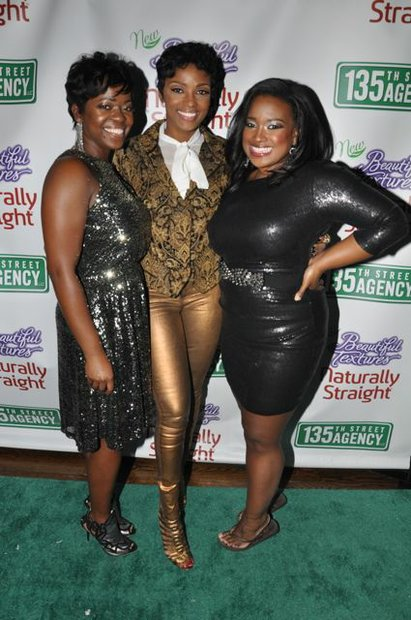 Saptosa Foster, Ariane Davis and Shante Bacon