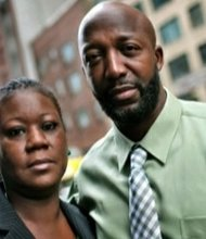 Sybrina Fulton and Tracy Martin, parents of Trayvon Martin, have reportedly met with book publishers. (Courtesy photo)