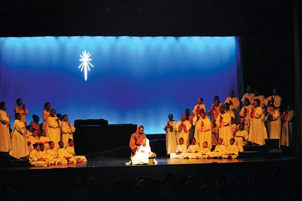 "This year marks ""Black Nativity""'s 43rd season, which concludes its run this weekend at Northeastern's Blackman Auditorium"