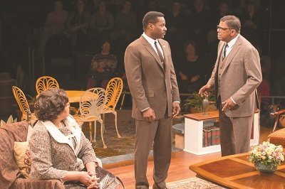 """""""Guess Who's Coming to Dinner,"""" now playing at the Arena Stage's Fichlander Stage, revisits the drama that first came to ..."""