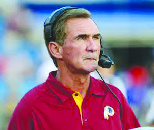 The moniker may remain the same but it's highly probably that the Redskins will soon have a new head coach.