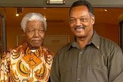 Nelson Mandela and Rev. Jesse Jackson, Sr., forged a strong friendship when the two met in Chicago for Mandela's one and only visit their.