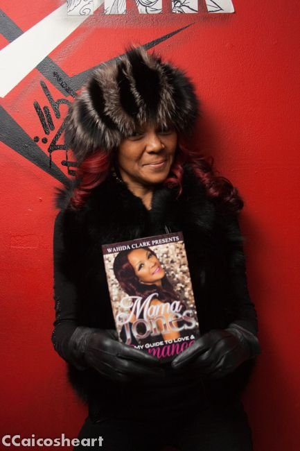Mama Jones of VH1's Chrissy and Mr. Jones, hosted a book signing event at Black Ink