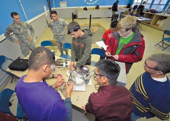 What initially started as a base-wide e-mail sent out in search of volunteers to help with the newly-formed Desert Jr. ...