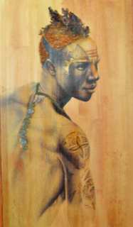 """The Warrior"" by Al Burts (Courtesy of International Visions Gallery)"