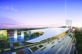 MGM National Harbor was selected as the sixth gaming location in Maryland by a state gaming commission on Dec. 20. (Rendering courtesy of MGM National Harbor)