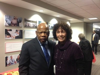 When U.S. Rep. John Lewis invited constituents of his congressional district in Georgia to a open house for his new ...