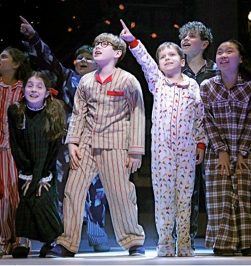 "The mounting of a production of ""A Christmas Story: The Musical"" becomes a holiday tradition."