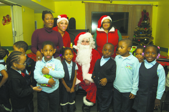 Create Inc. held its annual children's Christmas Party at their facility, 73 Lennox Ave. for the children of Harlem and ...