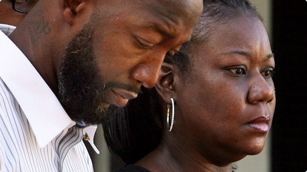 Trayvon Martin's parents