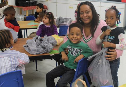 Alpha Kappa Alpha Sorority, Inc., Baltimore City Chapter, Epsilon Omega, visited two Pre-K classes at St. Jerome Head Start in ...