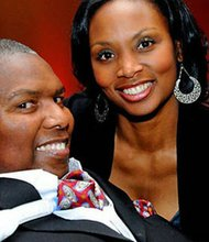 OJ Brigance and his wife Chanda Brigance