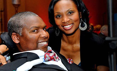 Baltimore Ravens senior advisor to player development O.J. Brigance, whose continuing battle with amyotrophic lateral sclerosis (ALS or Lou Gehrig's ...