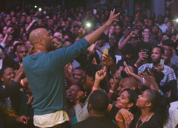 Grammy Award-winning hip-hop artist Common not only realizes his place as a role model, he embraces it.