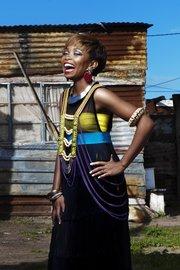South African soul singer, Nomfusi
