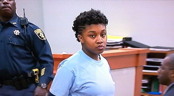 Ty'Aisa Jackson, who stabbed her 2-year-old sister Sasha LaMaya Ray to death in November 2012 and hid her body in ...