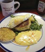 Bull's eye at Artcliff Diner (Kysha Harris photo)