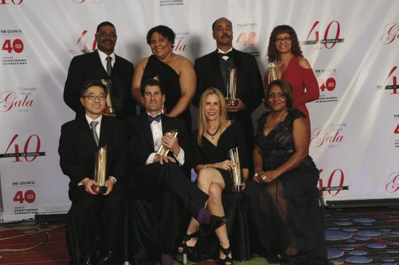 The New York and New Jersey Minority Supplier Development Council's 40th annual Partnership Awards Gala, held recently at the New ...
