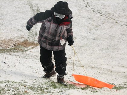 """As the snow begins to fall, the number of childhood injuries begins to rise,"" says Mike Clemmens, MD, director of ..."