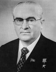 Yuri Adropov  chairman of KGB