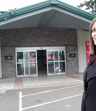 Melissa Froman, vice president of development for the Boys and Girls Club of Portland, looks over the site of a future Boys and Girls Club to serve youth in Gresham, a former Drake's 7 Dees garden center in the Rockwood neighborhood.