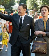 Walt Disney (Tom Hanks) courts P.L. Travers (Emma Thompson), the author of Mary Poppins, for the rights to develop her book into a feature film.