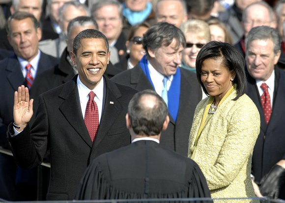 When then Senator Barack Obama turned into President Barack Obama after his historic 2008 election it had all the pageantry, ...