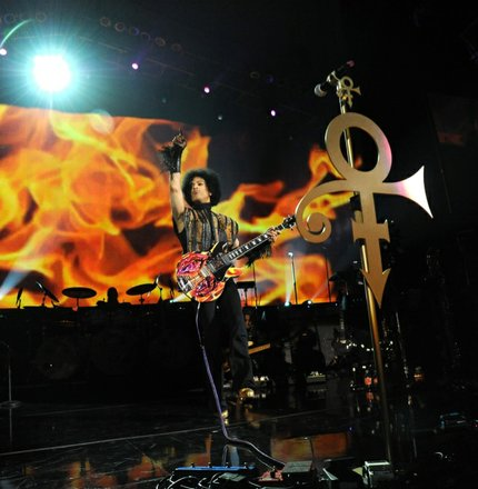 Prince plays at the Mohegan Sun.