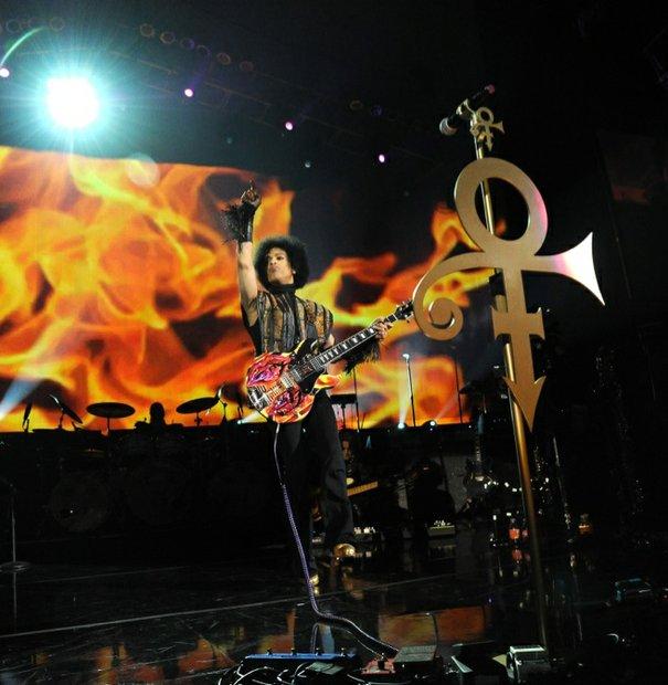 Prince plays at the Mohegan Sun.