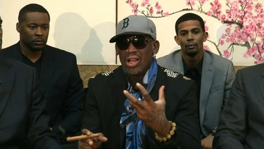 Eccentric basketball star Dennis Rodman's bizarre outburst about an American citizen jailed in North Korea has drawn widespread criticism, including ...