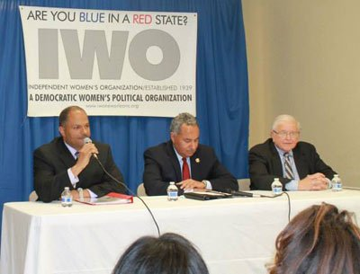On Tuesday evening, candidates vying for the New Orleans Municipal Offices of mayor, sheriff, coroner and City Council all faced ...