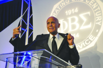 The Phi Beta Sigma fraternity's Centennial Founders Ball had a distinctive Civil Rights flavor as more than 1,000 fraternity members ...
