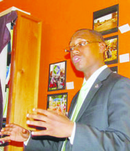 Ward 8 resident Nate Bennett-Fleming is the District's shadow representative to the U.S. Congress. (Courtesy photo)