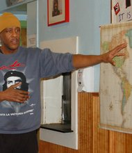 Ahjamu Umi has been working to bring the All African Peoples Revolutionary Party to Portland. A major tenant of the party is for black descendants and current residents of Africa to unite under socialism to share in the economic power from Africa's immense natural resources.