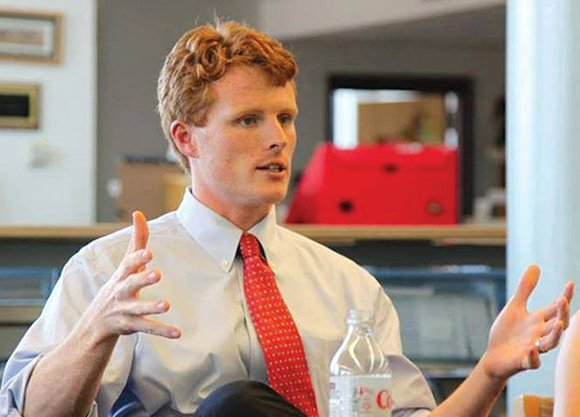 While running for Congress in 2012, Joe Kennedy III highlighted his experience as a Peace Corps volunteer in the Dominican ...