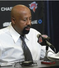 Mike Woodson has his team in a winning mood despite their recent loss to Charlotte.