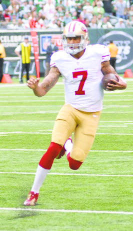 The 49ers' Colin Kaepernick can win the battle with his arm or by running the ball. Russell Wilson, the Seahawks' second-year quarterback, is seeking his first Super Bowl title