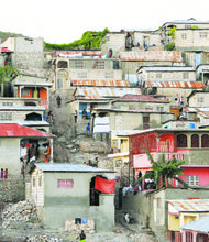 Haiti after the 2010 earthquake