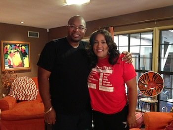 Trystin Kier Francis, principal and chief of design, Trystin Kier Company, and actress Kym Whitley