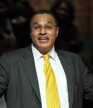 Freeman Hrabowski III, president of the University of Maryland, Baltimore County delivered the keynote address at the 32nd annual celebration of the legacy of Dr. Martin Luther King, Jr. on Friday, January 10, 2014.
