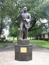 This statue in Dallas, Texas, was dedicated as part of the U.S. Bicentennial Celebration.