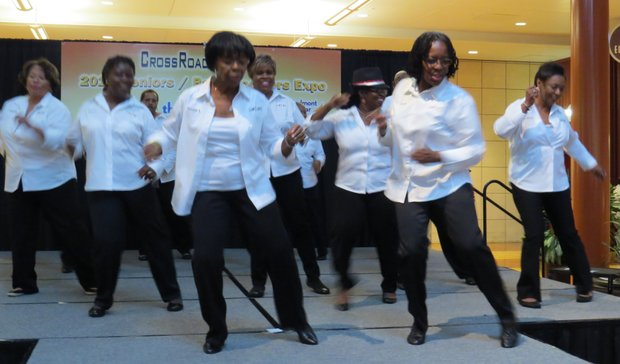 Line dancers from the Lou Walker Senior Center will show off their moves at 1 p.m. on Jan. 25 on the main stage near Sears at Stonecrest.