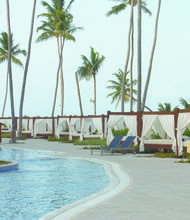 The Majestic Colonial Beach Resort is a five-star all-inclusive resort in Punta Cana, the Dominican Republic.